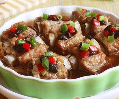 六和义推荐【家常菜】之豆豉蒸排骨