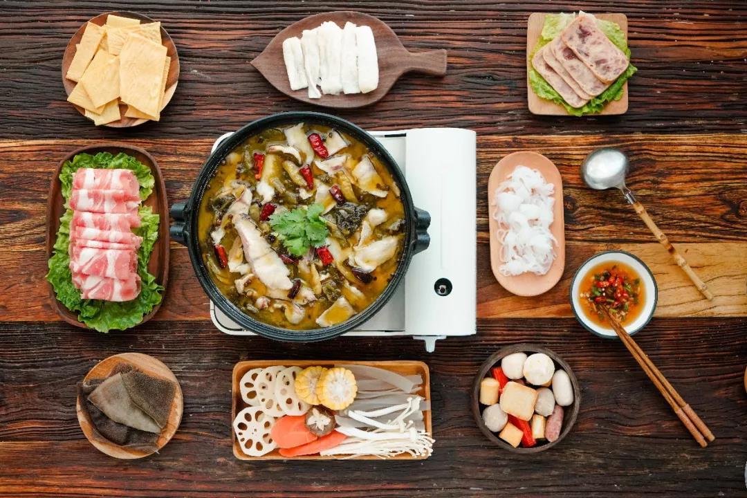 酸菜鱼火锅,美味又暖心,简单有营养~