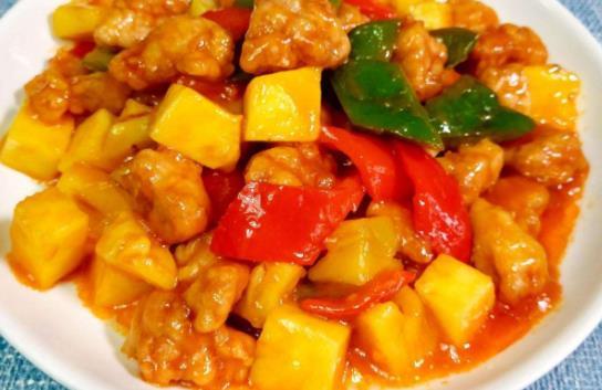 年夜飯上有這道菜孩子都愛吃:菠蘿古老肉