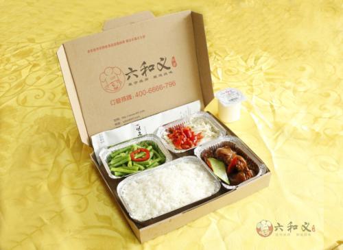 会议用餐活动用餐快餐盒饭就选合肥六和义