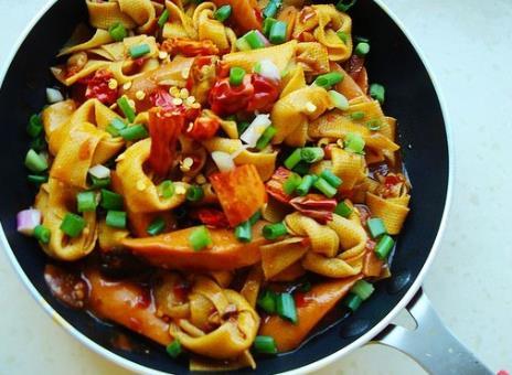 超级下饭的美味家常菜:香辣千张结