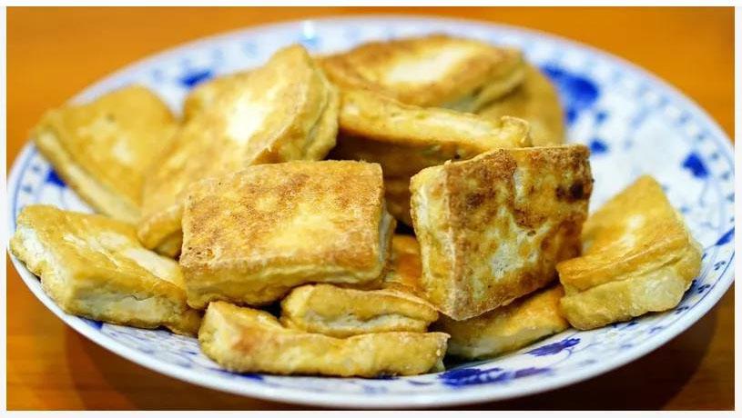 豆腐种新吃法,这么做既当零食又当菜,太好吃了!!